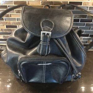 Guess mini black small backpack purse